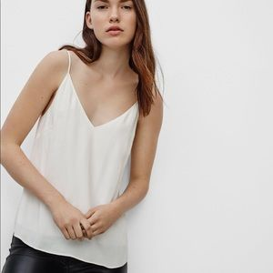 Wilfred White flowy tank top